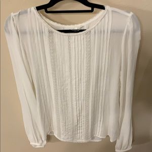 Off white long sleeve gap top size 6